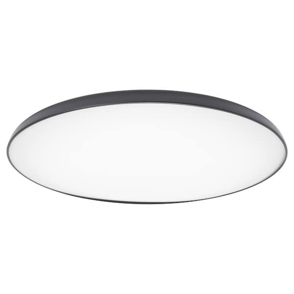 Nymane Led Ceiling Lamp Anthracite Ikea Ceiling Lamp Led Ceiling Lamp Led Ceiling