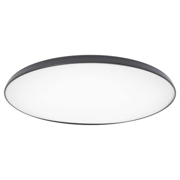 Nymane Led Ceiling Lamp Anthracite Ikea Ceiling Lamp Ceiling Lamp White Led Ceiling Lamp