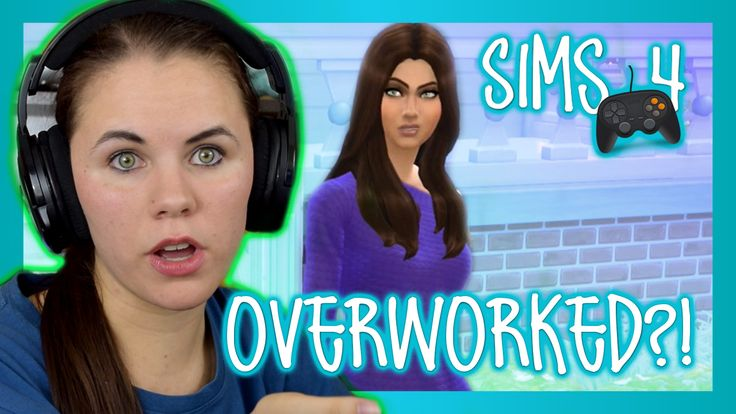 Is my sim overworked? All new The Sims 4 on console episode!