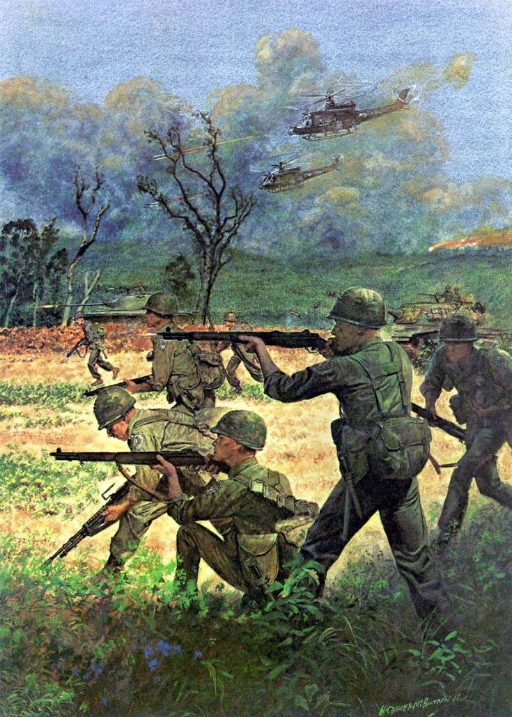 united states infantry art - Bing Images | Vietnam art ...