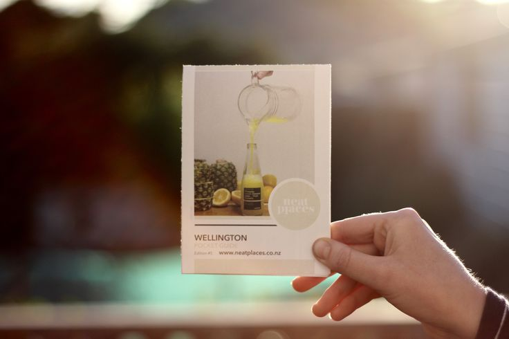 Wellington Neat Places Pocket Guide - Edition #5