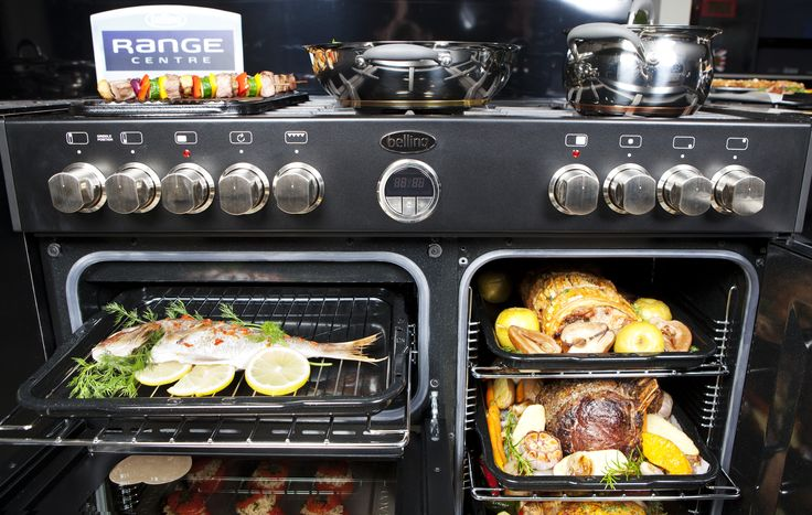 It's incredible what the astoundingly massive capacity of the Sterling 900 can fit all at once! What's for dinner tonight with 153L at your disposal?