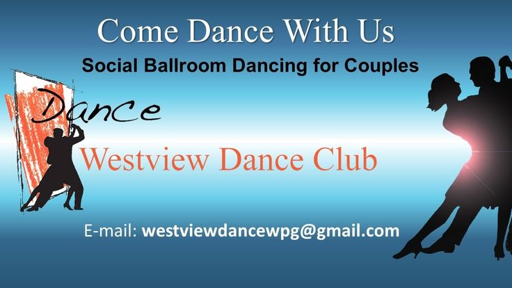 Westview Dance Club is a not-for-profit organization that promotes social ballroom dancing for couples.  Beginning in September and running until May, Westview Dance Club features 30 lessons with a trained dance instructor and 30 practices to tune up your skills, all for only $275 per couple.   Westview Dance Club: Promoting an active lifestyle through lifelong learning in social ballroom dancing in a friendly and supportive community.  For more information, e-mail: westviewdancewpg@gmailcom