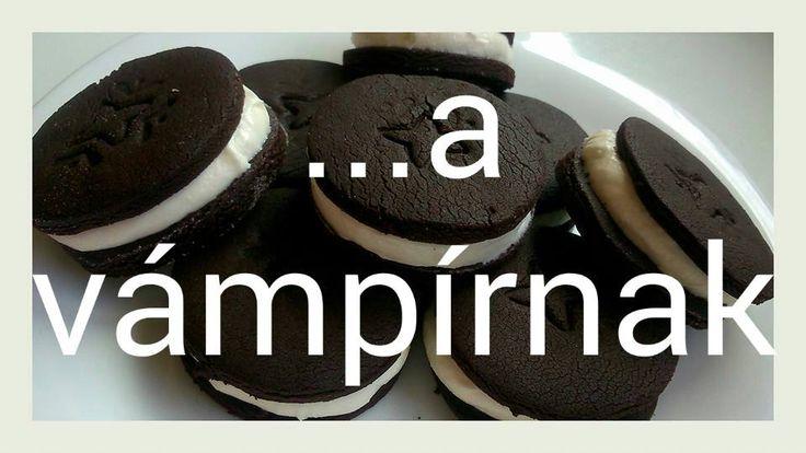 CsillaG sütöde: Oreo keksz a vámpírnak
