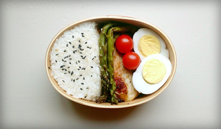 Beautifully Simple Bento Box (x-post from /r/bento)