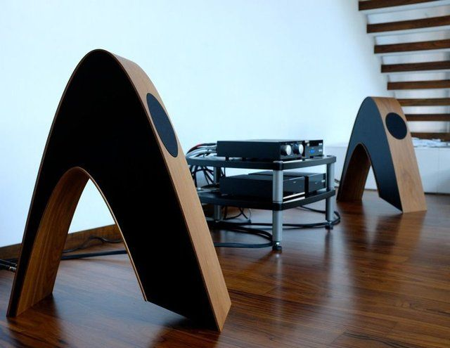 High end audio audiophile music listening room design Rithm Speakers by Davone