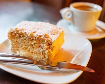 Gâteau facile au yaourt et café soluble