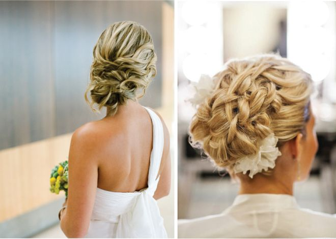 {Wedding Hairstyles} : Updo - Belle the Magazine . The Wedding Blog For The Sophisticated Bride: Prom Hairs, Weddings Updo, Hairstyles Weddings, Hairs Idea, Weddings Hairstyles Updo, Hairs Styles, Updo Hairstyles, The Bride, Vintage Weddings Hairstyles