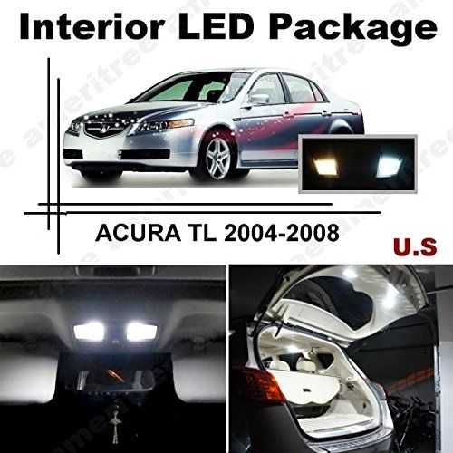 Ameritree Xenon White LED Lights Interior Package + White
