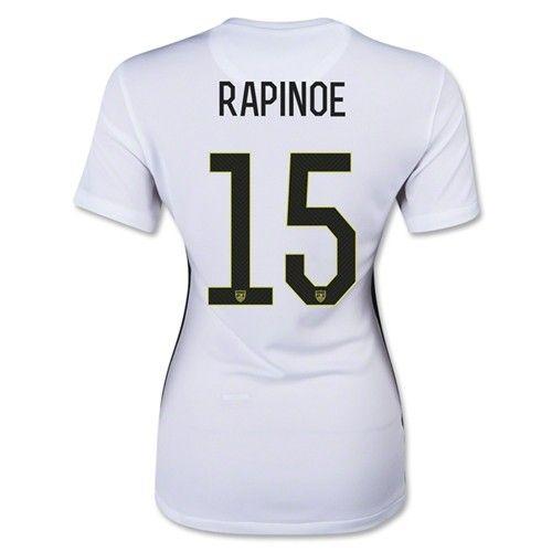 Rapinoe USA Womens 3-Star Home WC Jersey