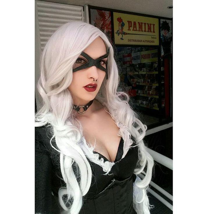 Black Cat para Panini Cómics  @panini_mx  #blackcat #blackcatcosplay #cosplay #marvel #marvelcomics #marvelcosplay #cosplayer #sexycat #sexycosplay #spiderman #hombrearaña #character #Panini #paninicomics #paninimanga #paninimx #work #makeup #model #altmodel #comics
