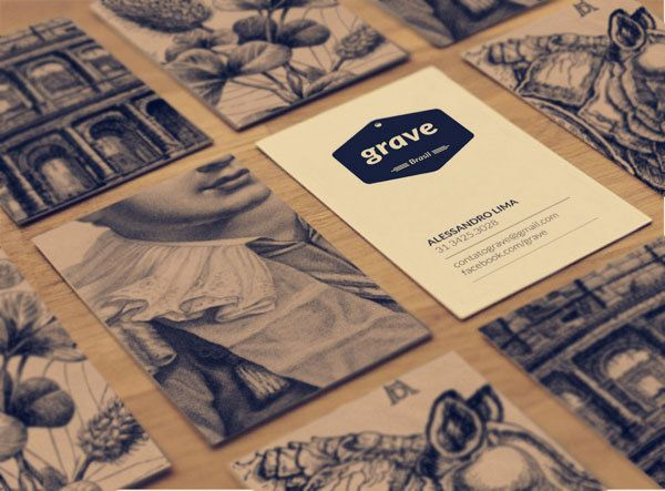 Gorgeous business cards.