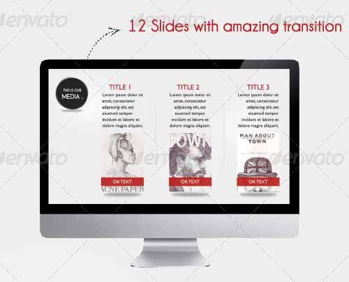 Best Presentation Templates Images On   Graph Design