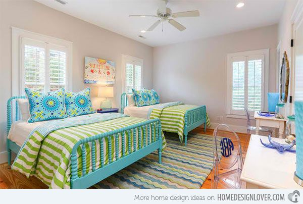 15 Killer Blue and Lime Green Bedroom Design Ideas | Home Design Lover