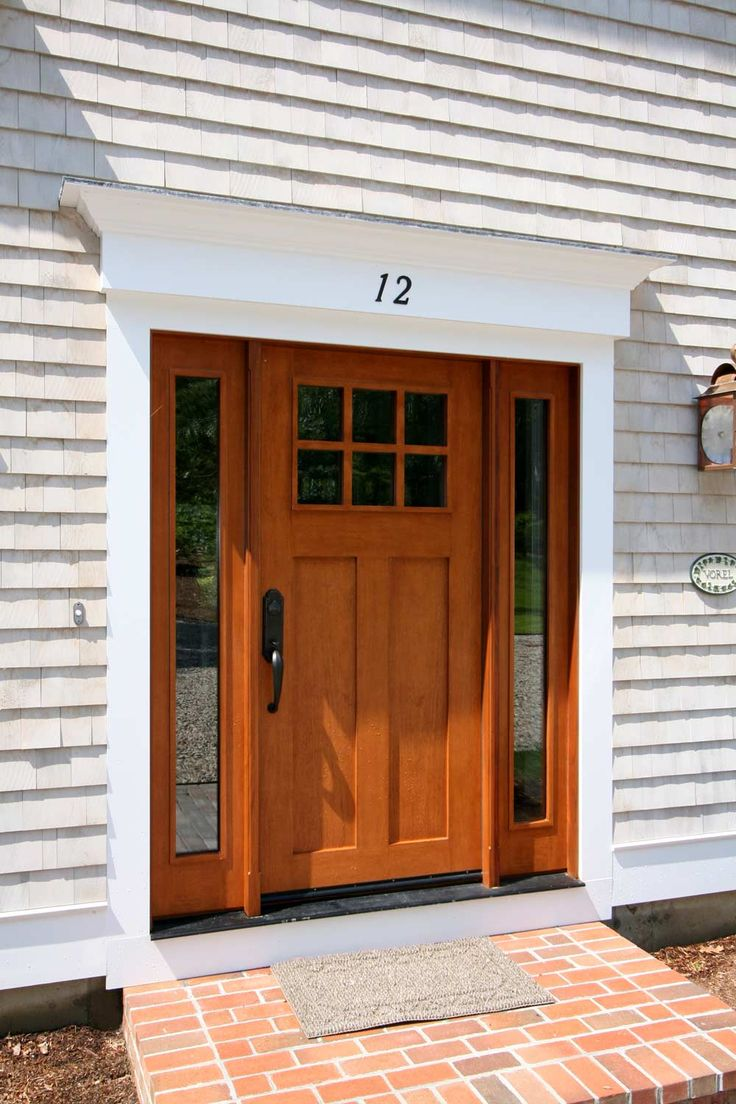 15 best colonial house inspirations images on pinterest for Colonial entry door