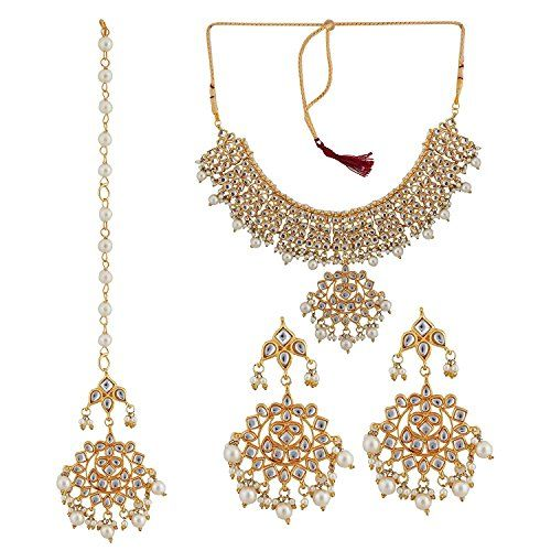 VVS Jewellers Indian Bollywood Gold Plated White Pearls E... https://www.amazon.com/dp/B0725F571K/ref=cm_sw_r_pi_dp_x_5iZvzbSM4SG2F