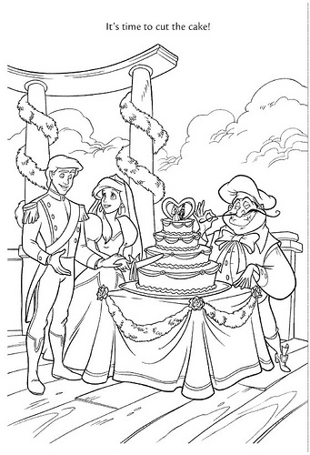Wedding Wishes 46 By Disneysexual Via Flickr Ariel Prince Eric Little Mermaid ColoringDisney Coloring PagesColoring BooksWedding