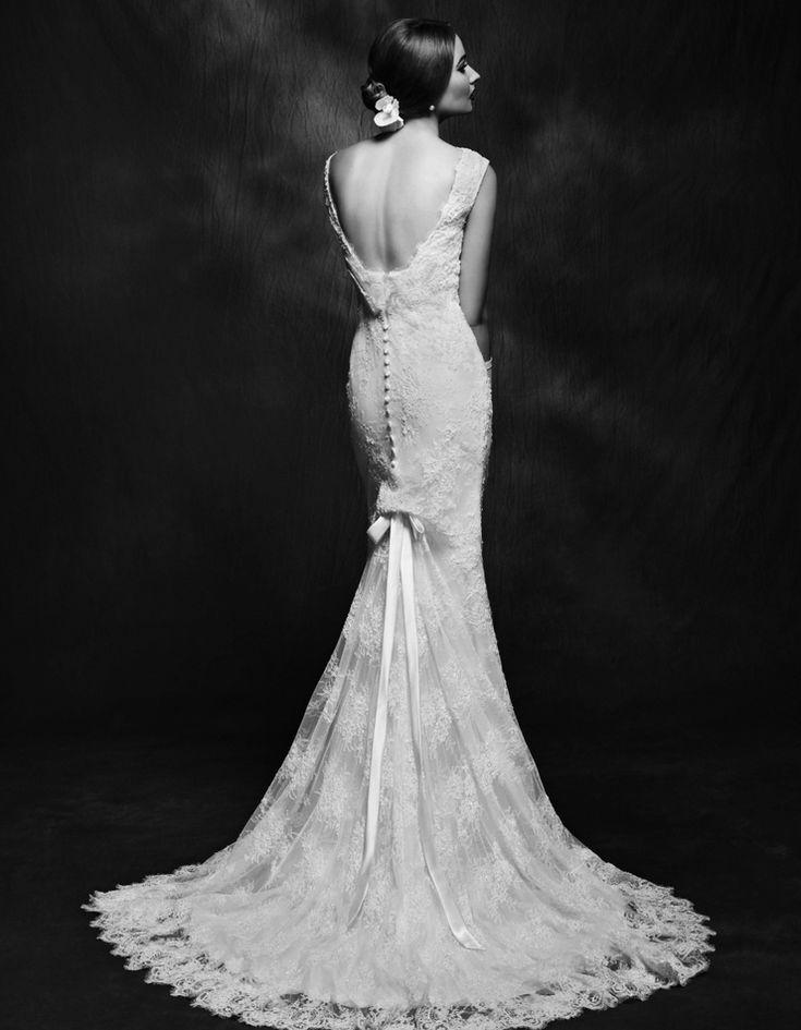 Lusan Mandongus Wedding Dresses 2015| Bridal Collection. | http://www.itakeyou.co.uk/wedding/lusan-mandongus-wedding-dresses-2015 #weddingdresses #weddinggown