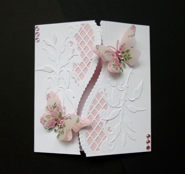 Sympathy Butterfly Card: