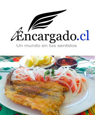 Larga Vida a la Pescada Frita con Chilena, http://encargado.cl El Rey del Pescado Frito en Caleta Portales, Valparaíso - Chile