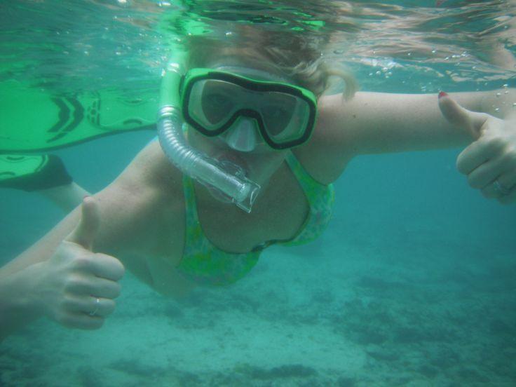 Snorkelling at Mystery Island, Vanuatu
