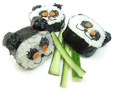 sushi panda bears!! <3