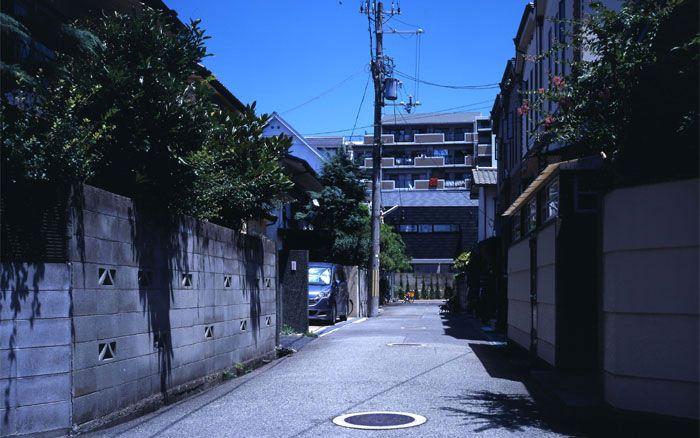 武庫之荘の家 袋小路の家