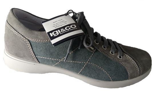 Sneaker shoes for men, made in Italy by Igi&Co