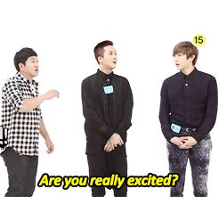 Leo meanwhile ravi can´t stop laughing