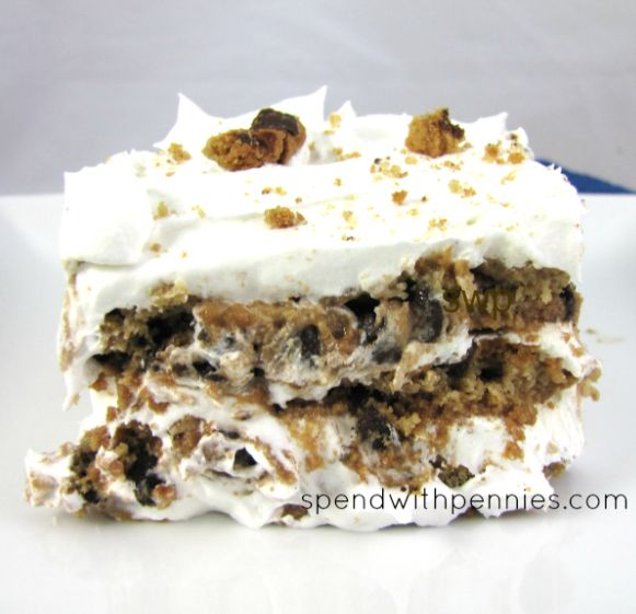 chips ahoy ice box cake | No Bake Chips Ahoy! Icebox Cake
