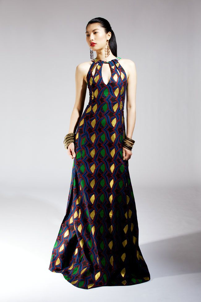 Nigerian Dress Styles | NAANA B LAUNCHES SPRING/SUMMER 2012 CLOTHING COLLECTION