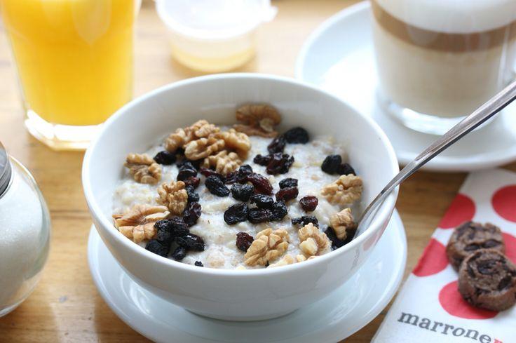 Завтрак Овсянка Каша Breakfast Porridge Cofee