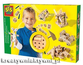 ZESTAWY KONSTRUKCYJNE - Mały Majsterkowicz - zabawki kreatywne dla chłopców