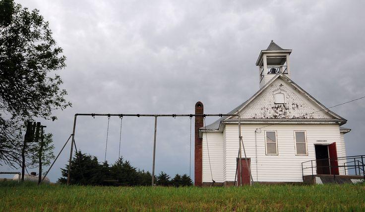 Brantford One Room Schoolhouse - Copyright Tom Dorsey/Salina Journal
