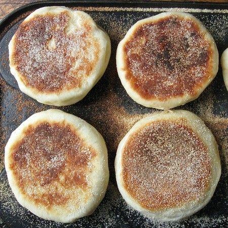 English Muffins: splitting image: King Arthur Flour – Baking Banter