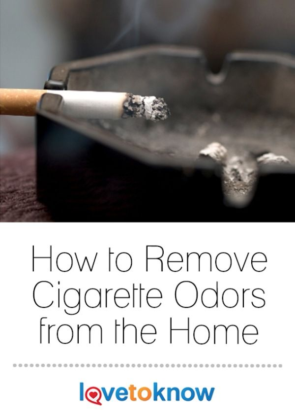removing cigarette odors from the home. Black Bedroom Furniture Sets. Home Design Ideas