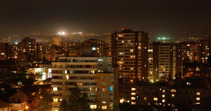 Santiago, hacia Las Condes