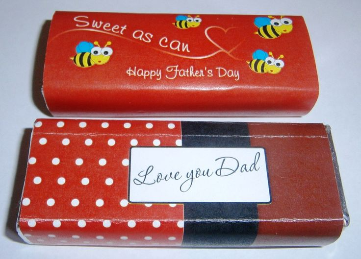 In the pic are two examples what we did for Fathers Day last year. We can do them in any design, colour or language. They are practical, different and taste delicious.