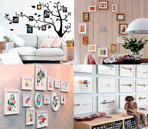 34 best images about decora con fotos on pinterest - Ideas para pintar paredes ...