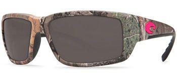 Georgia Shades. Costa Del Mar Fantail Sunglasses - Realtree Xtra Camo/Pink