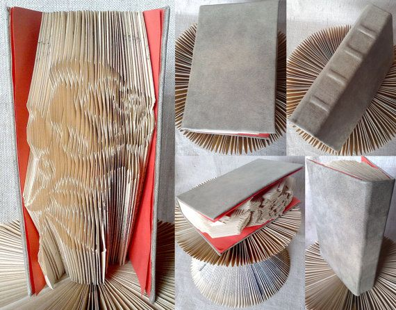 Folded book  Wedding Rose  Finished product  FREE by PatternsStore