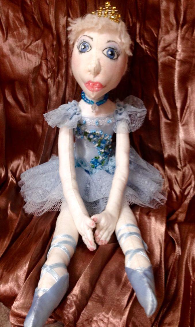 Ballerina art doll