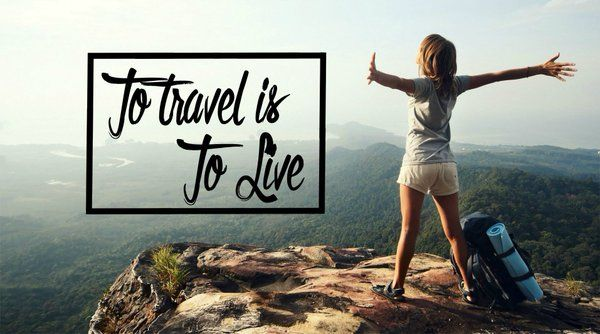 I would gladly live out of a suitcase, if it meant I could see the world!