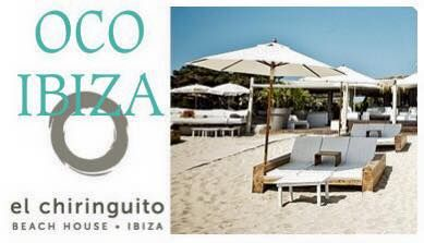 OCO ibiza @ El Chiringuito Playa Es Cavallet ~ FInd our new collection at your favorite beach!