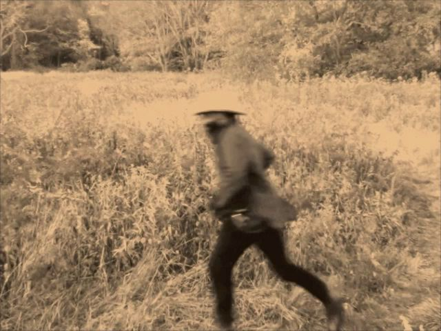 Samson Kambalu, Runner, film still, 2014