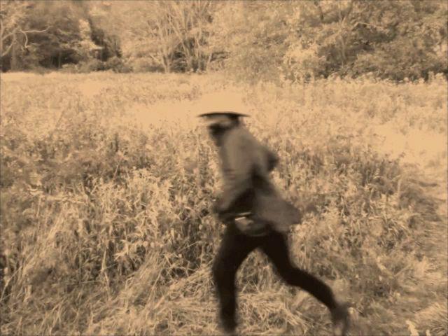 Samson Kambalu, Runner, film still, 2014