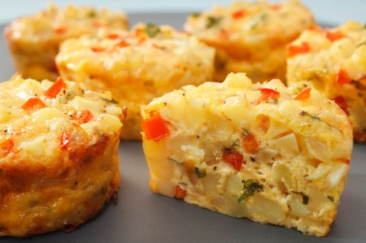 Making a bunch of these for my dairy-free toddler! Mini Vegetable Frittatas (gluten and dairy-free).