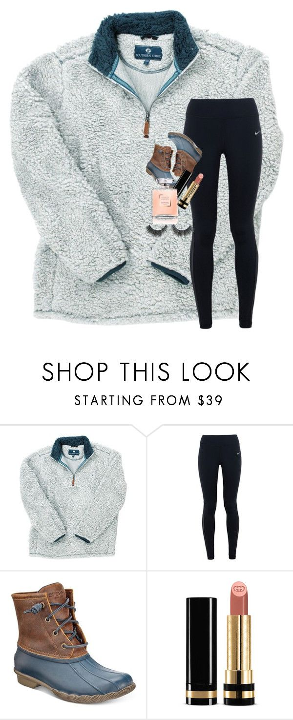 """""""Read D for details on deleting account"""" by oliviamiller1202 ❤ liked on Polyvore featuring NIKE, Sperry and Gucci"""