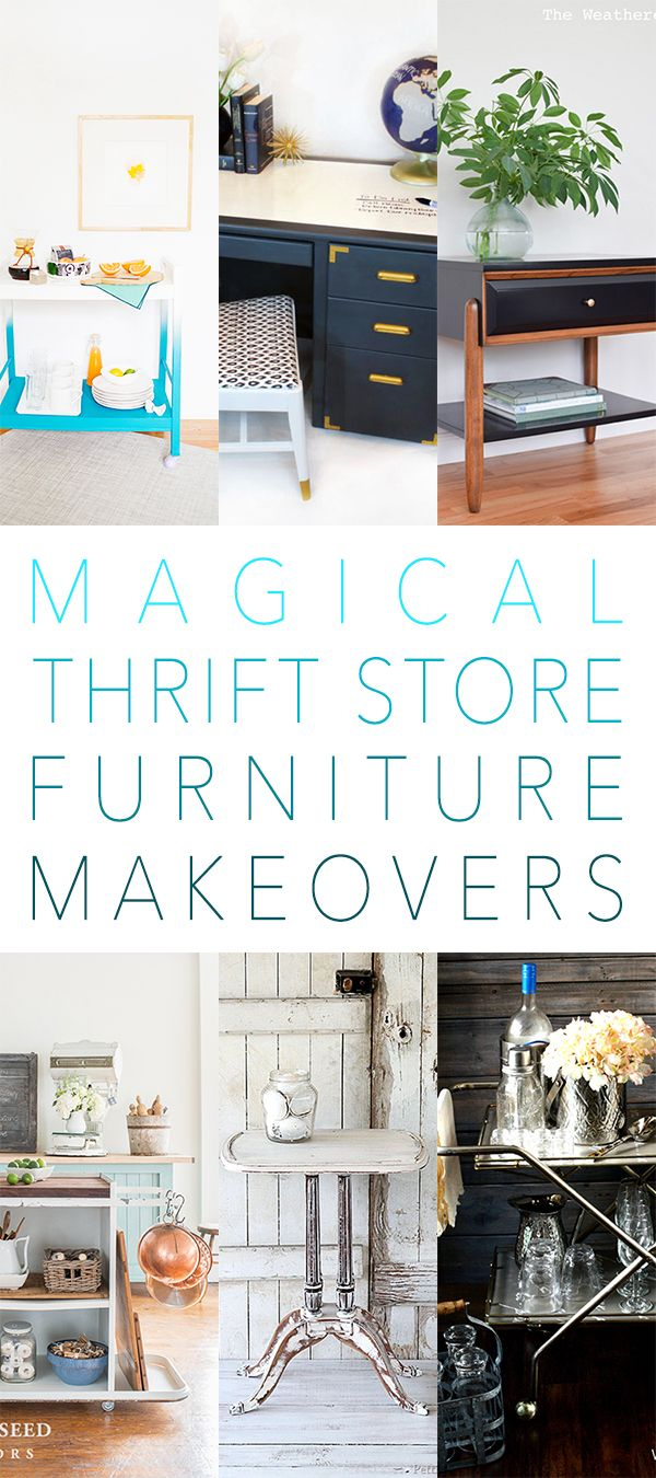 Best 25 Thrift Store Furniture Ideas On Pinterest Diy Furniture Makeovers Before And After