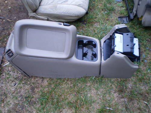 chevy silverado center console grey 99 02 gmc pickup truck. Black Bedroom Furniture Sets. Home Design Ideas